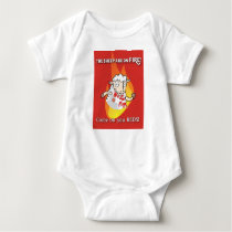 The Sheep are on fire  baby's T shirt baby-gro