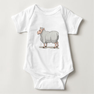 The Sheep Baby Bodysuit