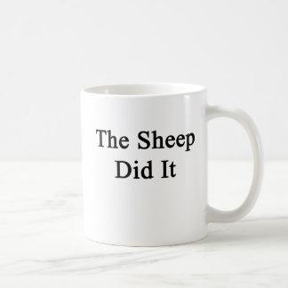 The Sheep Did It Coffee Mug