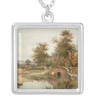 The Sheep Drover Silver Plated Necklace