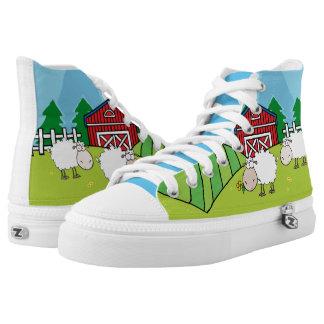 The Sheep Farm Printed Shoes