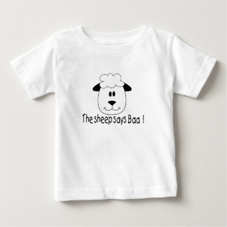 The Sheep Says Baa Baby T-Shirt