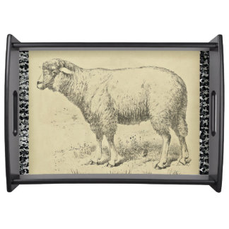 The Sheep Serving Tray