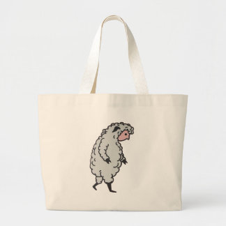 The Sheeple are here Canvas Bag
