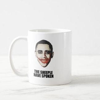 The Sheeple have spoken Classic White Coffee Mug