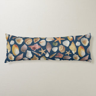 The Shell Collector Body Pillow