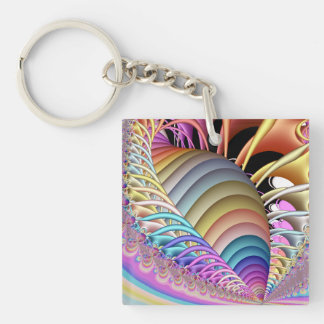 The Shell Fractal Keychain