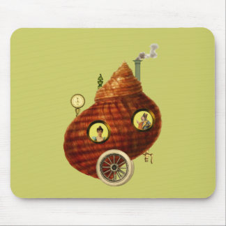 The Shell Mobile Abode ~ Steampunk Mouse Pad