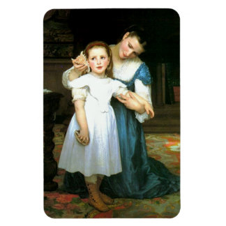 The Shell William-Adolphe Bouguereau Magnet Magnets