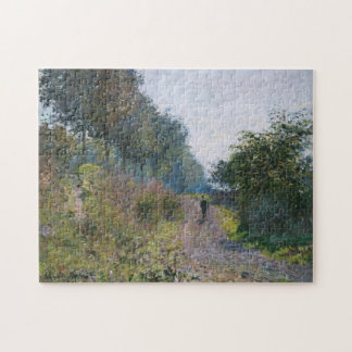The Sheltered Path Monet Fine Art Jigsaw Puzzle
