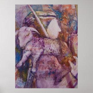 """""""The Shepherd"""" Framed Print"""