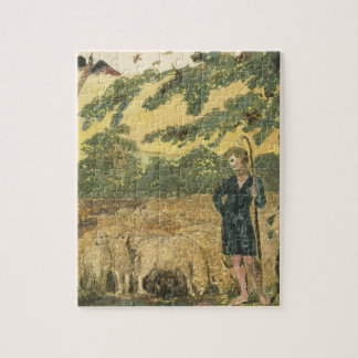 The Shepherd, from 'Songs of Innocence', 1789 (col Jigsaw Puzzle