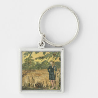 The Shepherd, from 'Songs of Innocence', 1789 (col Keychain