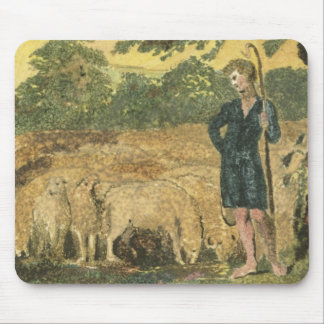 The Shepherd, from 'Songs of Innocence', 1789 (col Mouse Pad