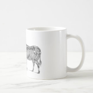 The Shepherd - Skeleton Bovine And Goat Classic White Coffee Mug