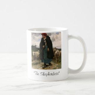 """The Shepherdess""~Border Collie Mug"