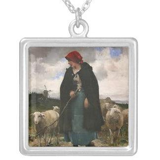 """The Shepherdess""~Border Collie Necklace"