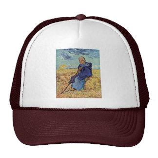 The Shepherdess By Vincent Van Gogh Trucker Hat