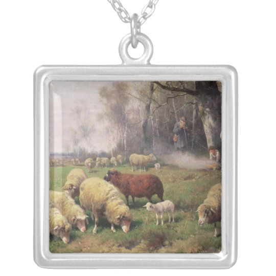 The Shepherd's Family Silver Plated Necklace