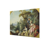 The Shepherd's Gift or, The Nest Stretched Canvas Print