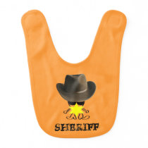 the sheriff baby bib