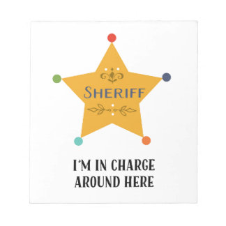 The Sheriff Memo Notepad