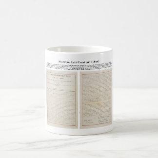 The Sherman Antitrust Act July 2 1890 Coffee Mug