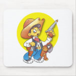 The Sherrif Mouse Pads