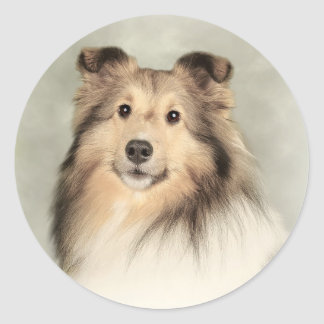 The Shetland Classic Round Sticker