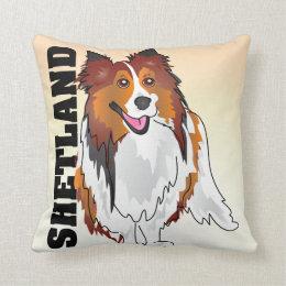 The Shetland Sheepdog Pillow