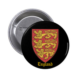 The Shield of England 2 Pinback Button