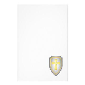The Shield Of Faith Stationery