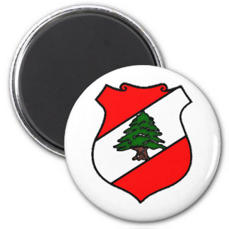 The Shield of Lebanon Fridge Magnet
