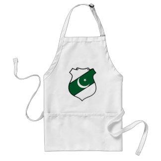 The Shield of Pakistan Adult Apron