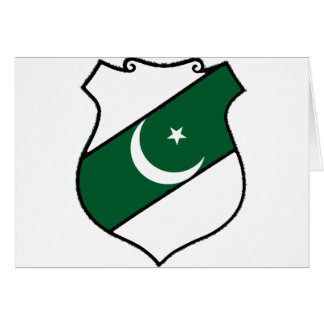 The Shield of Pakistan Card