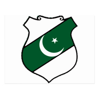 The Shield of Pakistan Postcard