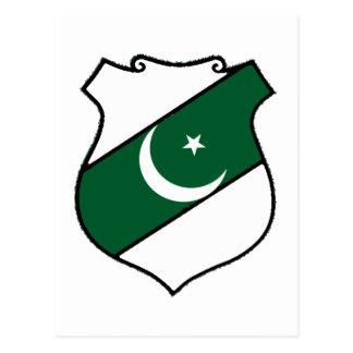 The Shield of Pakistan Postcard