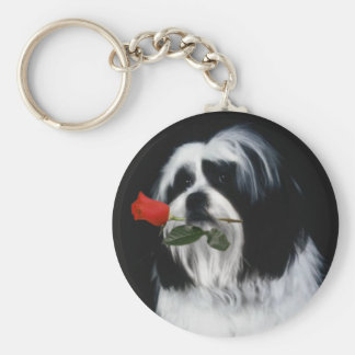 The Shih Tzu Dog Keychain
