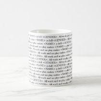 The shining book text customizable mug
