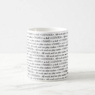 The shining book text customizable mug