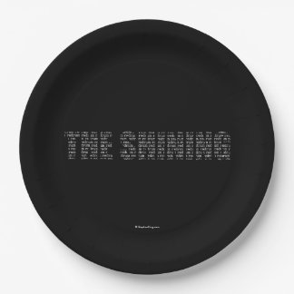 The Shining Paper Plate