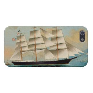 The Ship Fleetwing, Hong Kong Bay iPhone SE/5/5s Cover
