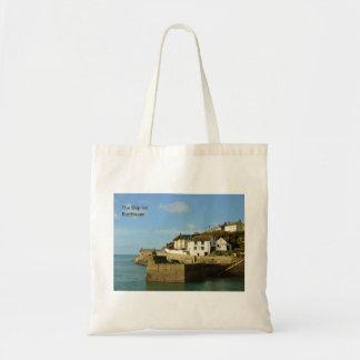 The Ship Inn Porthleven Cornwall England Tote Bag