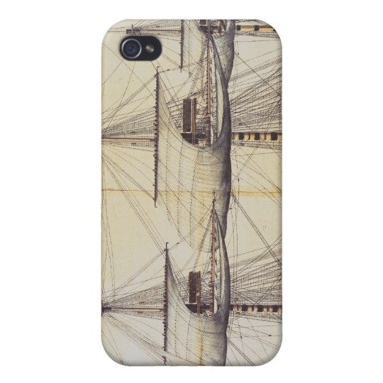 The Ship 'La Ville de Paris' Covers For iPhone 4