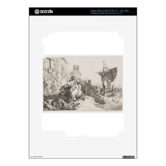 The ship of fortune by Rembrandt Decal For iPad 3
