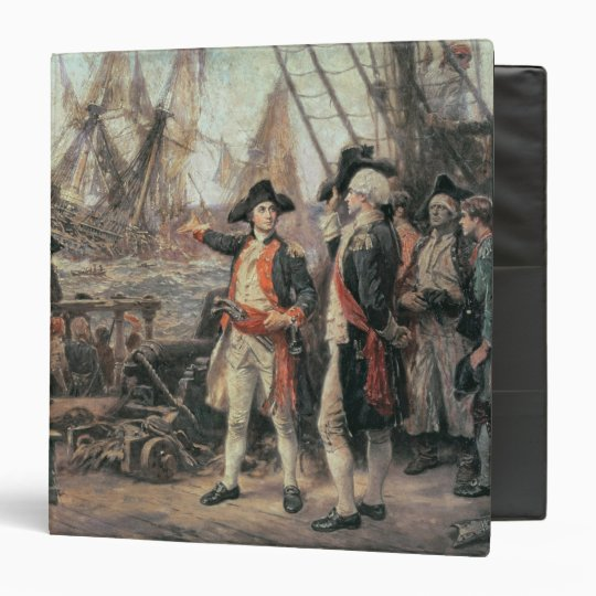 The ship that sank the Victory, 1779 3 Ring Binder