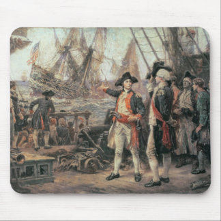 The ship that sank the Victory, 1779 Mouse Pad