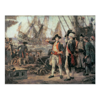 The ship that sank the Victory, 1779 Postcard
