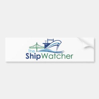 The Ship Watcher Bumper Sticker Car Bumper Sticker