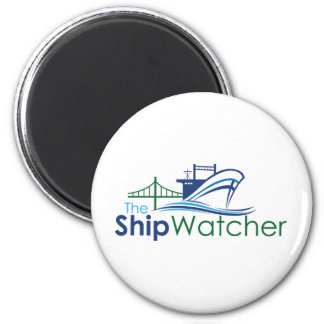 The Ship Watcher Magent 2 Inch Round Magnet